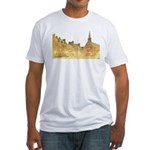 Inside Old Quebec Fitted T-Shirt