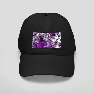 Purple Bliss Fractal Baseball Hat