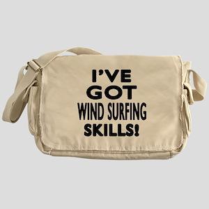 Wind Surfing Skills Designs Messenger Bag