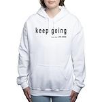 Keep Going Women's Hooded Sweatshirt