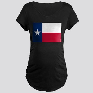 Texas State Flag Maternity T-Shirt