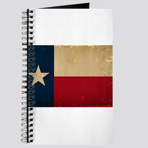 Texas State Flag VINTAGE Journal