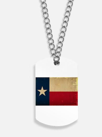 Texas State Flag VINTAGE Dog Tags
