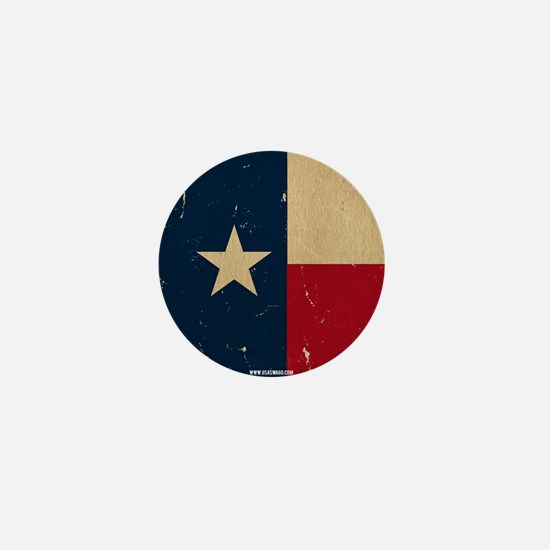 Texas State Flag VINTAGE Mini Button