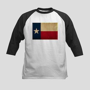Texas State Flag VINTAGE Kids Baseball Jersey