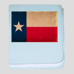 Texas State Flag VINTAGE baby blanket