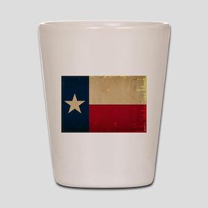 Texas State Flag VINTAGE Shot Glass