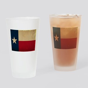 Texas State Flag VINTAGE Drinking Glass