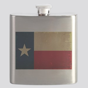 Texas State Flag VINTAGE Flask