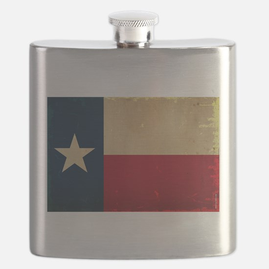 Texas State Flag VINTAGE Flask