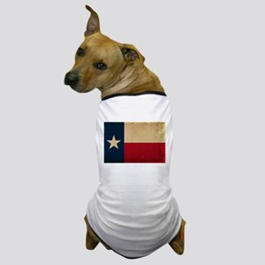 Texas State Flag VINTAGE Dog T-Shirt