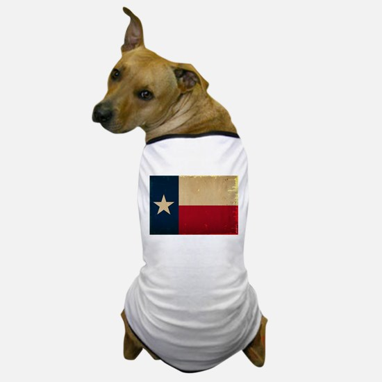 Texas State Flag VINTAGE Dog T-Shirt