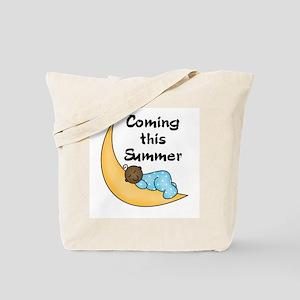 Summer (African American boy) Tote Bag