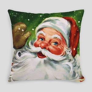 Vintage Santa Face 1 Everyday Pillow