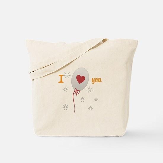 Love I Heart You Tote Bag