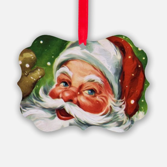 Vintage Santa Face 1 Ornament