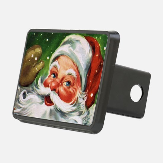 Vintage Santa Face 1 Hitch Cover
