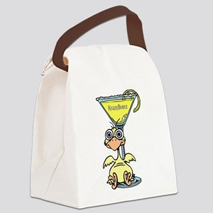 Drunk Chick Canvas Lunch Bag