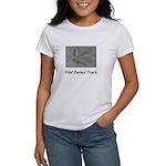 Wild Turkey Track Women's T-Shirt
