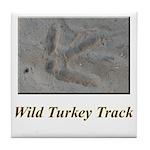 Wild Turkey Track Tile Coaster