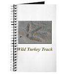 Wild Turkey Track Journal