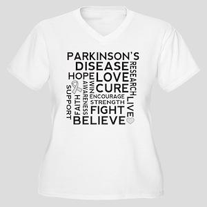 Parkinsons Disease support Plus Size T-Shirt
