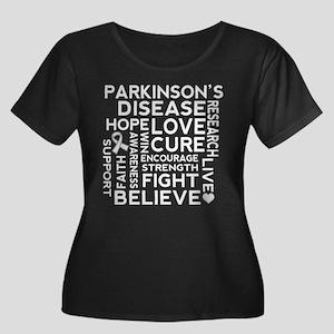 Parkinsons Disease Walk Plus Size T-Shirt