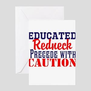 Funny redneck greeting cards cafepress educated redneck greeting cards bookmarktalkfo Choice Image