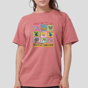 Meet Love Life Red z12x12 T-Shirt