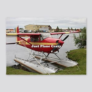 Just plane crazy: float plane 22 5'x7'Area Rug