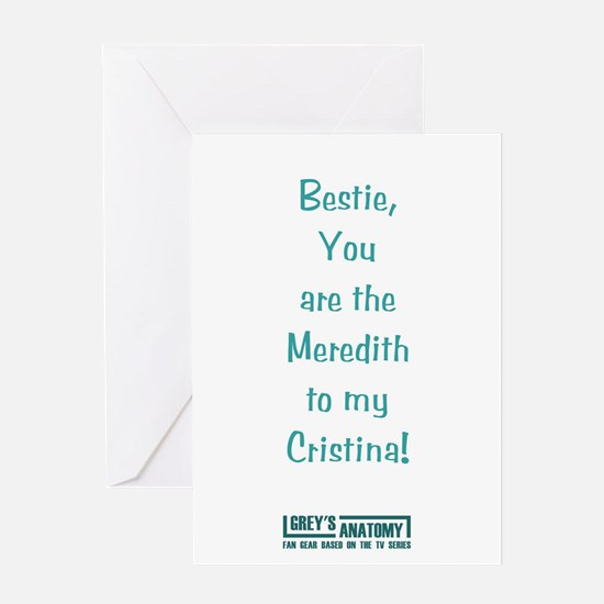 MEREDITH/CRISTINA Greeting Card