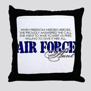 When freedom needed heroes: A Throw Pillow