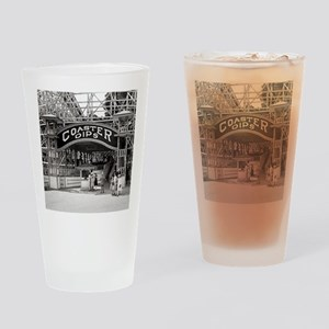 Wooden Roller Coaster, 1926 Drinking Glass