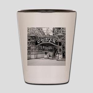 Wooden Roller Coaster, 1926 Shot Glass