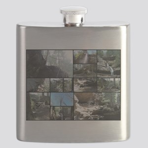 Hocking HIlls State Park Collage Flask