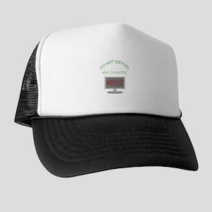 Do Not Disturb Watching Nashville Trucker Hat