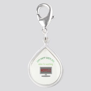 Do Not Disturb Watching Nas Silver Teardrop Charm