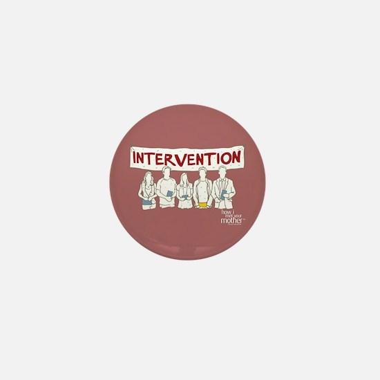 HIMYM Doodle Intervention Mini Button