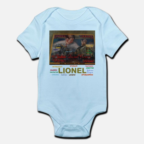 JOSHUA LIONEL COWEN, THE SPARKLER. Infant Bodysuit