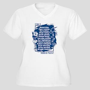 I am a Student Nurse! Plus Size T-Shirt