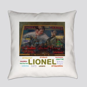 JOSHUA LIONEL COWEN, THE SPARKLER. Everyday Pillow