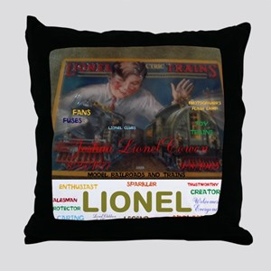 JOSHUA LIONEL COWEN, THE SPARKLER. Throw Pillow