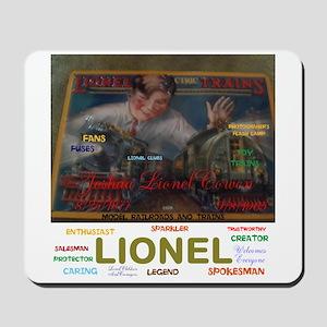 Joshua Lionel Cowen, The Sparkler. Mousepad