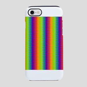 Wild Zany Rainbow Menagerie iPhone 8/7 Tough Case