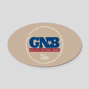HIMYM Goliath Jingle Round Oval Car Magnet