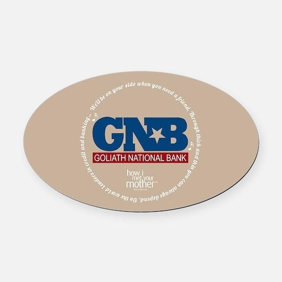 HIMYM Goliath Jingle Round Oval Car Magnet