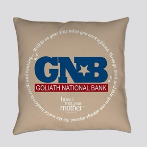 HIMYM Goliath Jingle Round Everyday Pillow