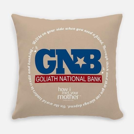 HIMYM Goliath Jingle Round Everyday Pillow