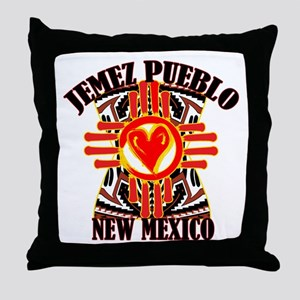 JEMEZ PUEBLO Throw Pillow