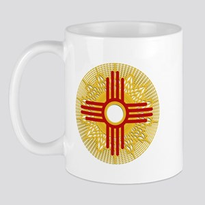 Sunburst Zia Mugs